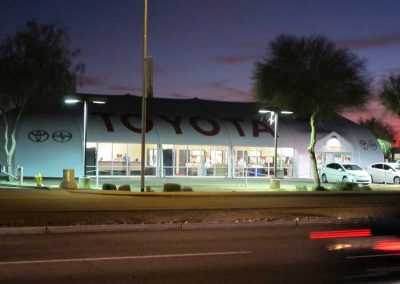 Larry H. Miller Toyota Peoria AZ. Tiffany Structures